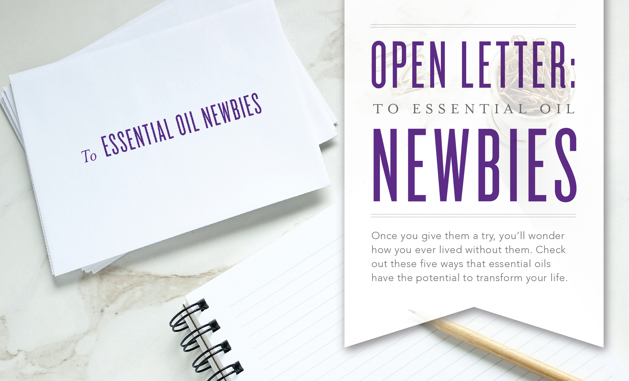Open letter to essential oil newbies